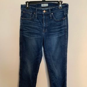 Madewell Slim Straight Jeans, size 29